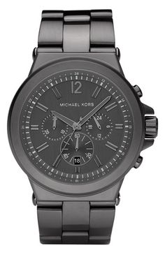 for NATE: Michael Kors Large Chronograph Bracelet Watch | Nordstrom $250