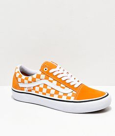 Bonitos White Checkerboard Skool Zapatillas Cheddar Shoes Vans Zapatos Originales Skate Old amp; Pro qU741R
