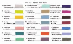 2018 S/S Premiere Vision 1 カラー予測 | テキスタイルウォッチング テキスタイルディレクター・北川美智子の甘辛トーク