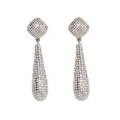 New Design Rhinestone Water Drop Earrings Tassel Earrings, Drop Earrings, Water Drops, News Design, Pattern, Beauty, Jewelry, Jewlery, Bijoux