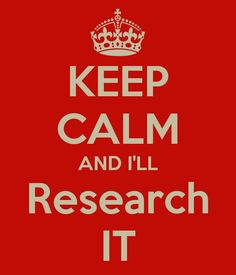 Relevant information might stop some of that unwarranted anxiety -- or, gee, maybe even keep a person from looking like an idiot.  #research #INTJ
