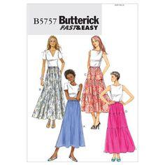 Misses' Skirt-ZZ (LRG-XLG-XXL) Pattern