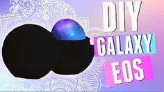 galaxy eos lip balm diy - YouTube