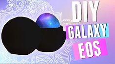 galaxy eos lip balm diy - YouTube
