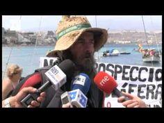 La travesía de un navegante contra las prospecciones petrolíferas