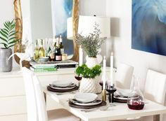 Ellie Somerville & Nick McNevin welcomes Rue to their home for a spring dinner party!!