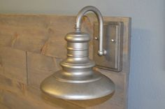 Lantern AddOn for our Rustic Headboard with by KnotsandBiscuits, $220.00
