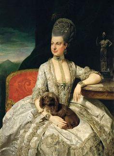 Maria Christina of Austria (1742-1798), daughter of Maria Theresa of Austria…