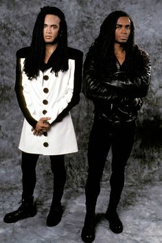mtvs 90s music   Rob Pilatus and Fab Morvan of Milli Vanilli.   MTV Photo Gallery