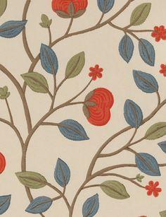 Medlar wallpaper from GP & J Baker