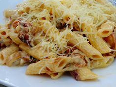 Greek Recipes, Vegan Recipes, Cookbook Recipes, Cooking Recipes, Pasta Dishes, Nutella, Spaghetti, Food And Drink, Easy Meals