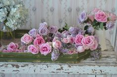 Lilacs and roses...