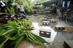 Tuvalu , reef island, Climate Change Flood