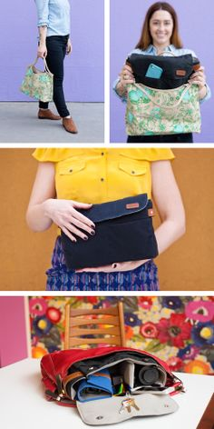 The Any Bag Camera Bag Insert turns ANY bag into a CAMERA bag. (It's pretty much in the name). ;)