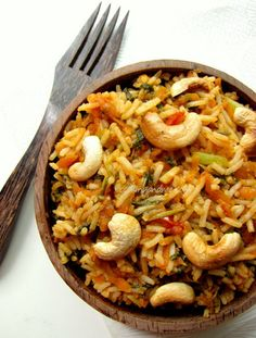 Hot tomato spinach pulao 3 cups cooked rice 4 cups chopped green spinach 1…