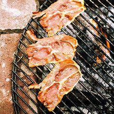 Grilled Prosciutto
