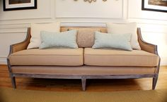 awesome reupholstered couch