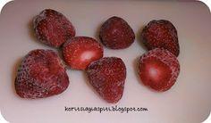 Κορίτσια Για Σπίτι: Πώς να συντηρήσουμε τις φράουλες στην κατάψυξη Cooking Tips, Frozen, Sweets, Fruit, Desserts, Blog, Recipes, Greek, Skinny