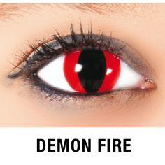 KawaEyes Demon Fire