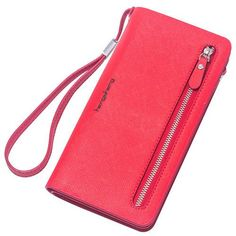 Hot Fashion Female wallets High-quality PU Leather Wallet Women Long Style Cowhide Purse Brand Capacity Clutch Card Holder Pouch