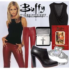 """Buffy the Vampire Slayer"" by britterend on Polyvore"