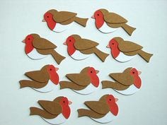 Christmas Toppers For Card Making.Christmas Card Toppers Diecuts