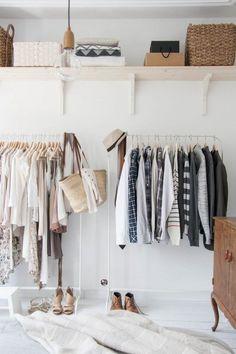 Vaatetekit ja ylähylly