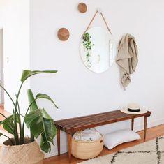 Elegant Home Interior Apartment Entry, Boston Apartment, Apartment Design, Apartment Living, Entry Hallway, Entryway, Interior Styling, Interior Design, Front Door Design