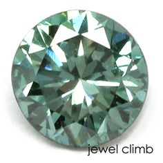 ファンシーディープブルーイッシュグリーンダイヤモンド0.18CT
