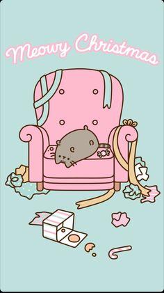 "Pin by keenan wayne ""moi"" watson on pusheen Wallpaper Gatos, Cat Wallpaper, Kawaii Wallpaper, Galaxy Wallpaper, Gato Pusheen, Pusheen Love, Pusheen Stuff, Chat Kawaii, Kawaii Cat"