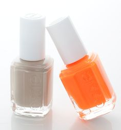 essie neon and nude.