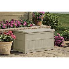 Garden Storage Deck Box 50 Gal Space Patio Furniture Home Backyard Outdoor NEW #GardenStorageDeckBox