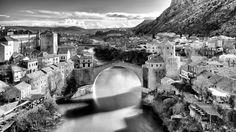 The city of Mostar - Old Bridge, Mostar Bosnia and Herzegovina www.bezdanphoto.com