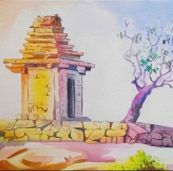 Indian art ideas presents modern art gallery that includes different art forms like contemporary art, abstract art, landscape art and figurative art. You can buy any of these Indian arts online. Online Painting, Paintings Online, Modern Art, Contemporary Art, India Culture, Indian Art Paintings, Indian Artist, Sketch Painting, Watercolor Techniques