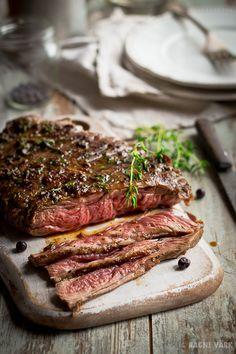 delicious bavette steak ...