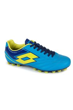 Get home the new Spider IX TX by lotto, an amazing shoe that will make you keep going in the field. A lightweight shoe that provides a great run available in an attractive colour like blue. Provides both comfort and an amazing grip over a firm ground surface. Puntoflex technology allows the foot to flex and gives an elastic return.