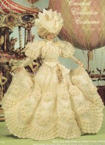 paradise publications | paradise publications doll heirloom crochet pattern volume 101 1895 ...