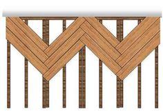 Herringbone deck joisting