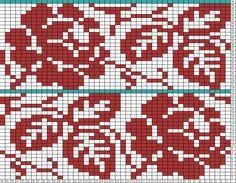 Tricksy Knitter Charts: Roses (76692)