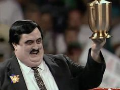 "Farewell to William Moody aka ""Paul Bearer"" (1954-2013) from WWE. The former mortician and embalmer was an icon of the wrestling show, usually carrying an urn. He worked in wrestling since 1979, starting out as a ringside photographer, then becoming a wrestler, and later a manager. He appeared on TV for over 20 years."