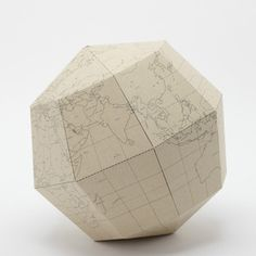Earth's Axis Globe Blank Beige, $39, now featured on Fab.