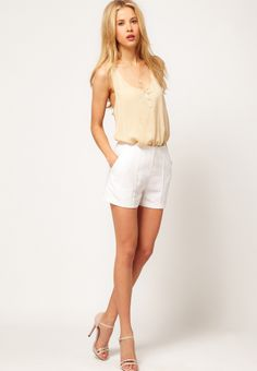 white linen dresses   SOLD) white linen shorts   SHOP fashion distraction