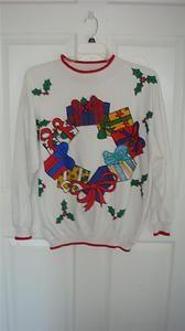 Tacky Christmas Craft Sweatshirts