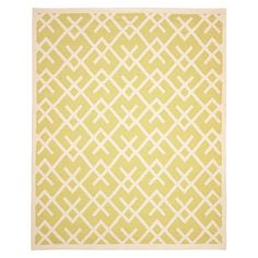 light green geo rug