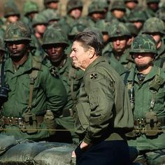 I Love and miss President Reagan. I joined the Navy in 1983 because of him. I love how he supported all of our troops. He had a real love for service men and women. I thank all veterans from 1776 and on. Greatest Presidents, American Presidents, Us Presidents, American Soldiers, Ronald Reagan Quotes, President Ronald Reagan, 40th President, Great Quotes, Inspirational Quotes