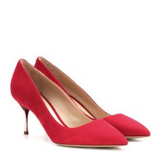 e158e6e96b78d Suede Pumps ☆ 000858 + mytheresa · EscarpinsTalons aiguilleNicholas Kirkwood Chaussures ...