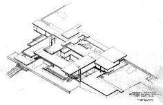 Bass Residence, Fort Worth TX (1970) | Paul Rudolph