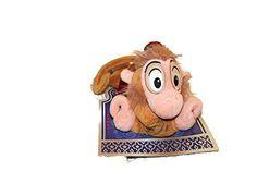 Disney Flying and Talking Abu Plush Toy  http://www.amazon.com/Disney-Flying-Talking-Abu-Plush/dp/B016CF7LYY/ie=UTF8?m=A56I31PGKMB8H&keywords=Disney+Plush+Toy