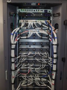 Connecting 48 port network switches to patch panels. DLink switches