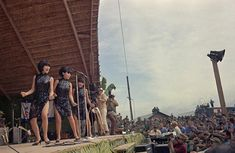 USO show for U.S. Troops - photo by Horst Faas AP ~ Vietnam War